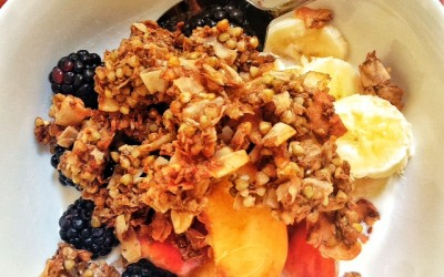 Recipe: Buckwheat Granola