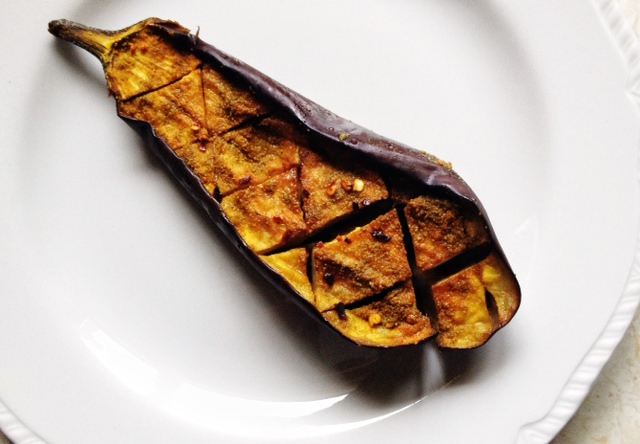 Recipe: Roasted Eggplant with Lentils and Tahini (3)
