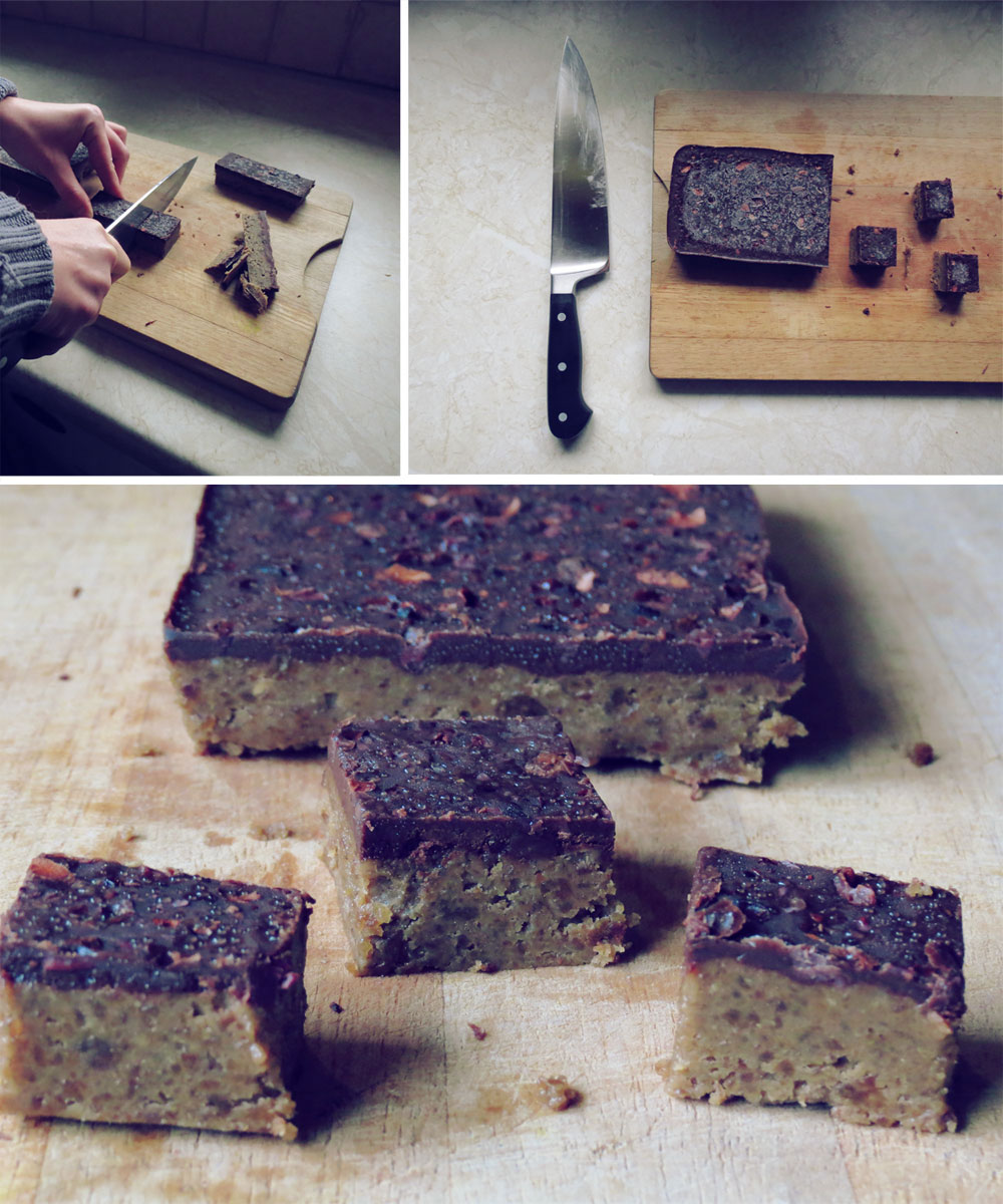Salted Tahini Date Fudge-3